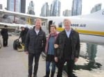 Seaplane trip with Rebecca and Charlie from Caslon