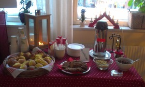 The Christmas Language Cafe