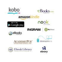 Kobo, ebooks.com, amazon kindle, google books, nook, ebooks, ingram, myilibrary, academic pub, dawson, ebook library, ebrary