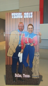 Tommi and Laura: TESOL does Texas!