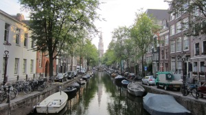The canals beside the conference venue