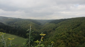 The view towards the Moselle from our hike