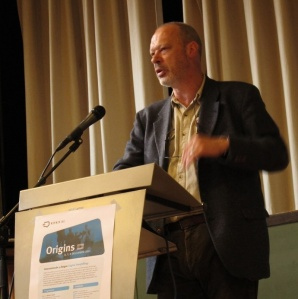 Jan Blommaert speaking on superdiversity, Antwerp, January 2013