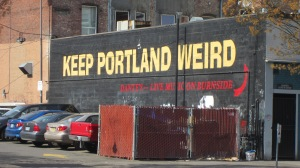 The ethos of Portland - and we loved it