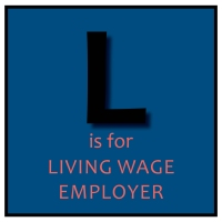 L is for Living Wage Employer