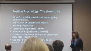 Alison Phipps beginning her keynote