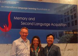 Arthur, Mailce, and Edward at the Hong Kong Roundtable