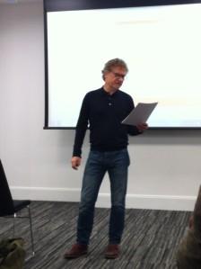 Birmingham's Poet Laureate Adrian Blackledge