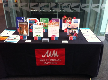 The MM stand at the conference