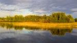 On the lake in Jyväskylä