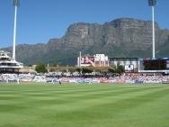 Test match in Cape Town