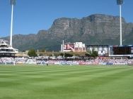 Test match in Cape Town