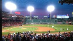 Red Sox game at Fenway