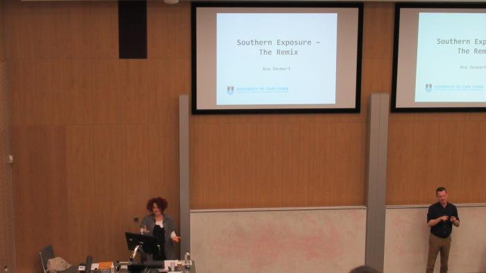 Ana Deumert's keynote speech