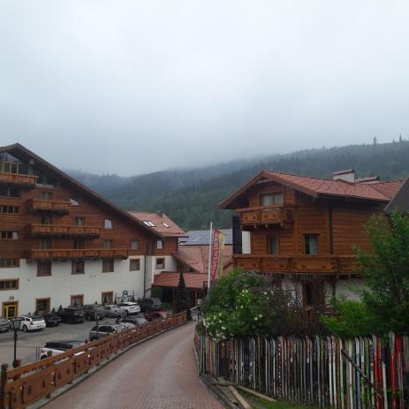 Szczyrk in the rain