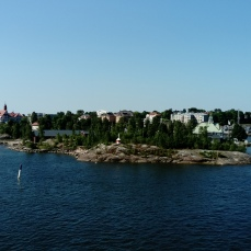 Helsinki from the ferry