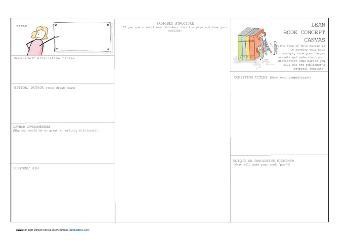 Lean Book Concept Canvas A3 new