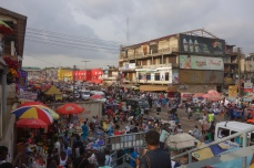 The central market in Kumasi